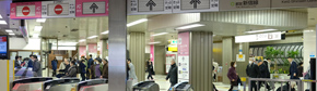 Toei Oedo/Toei Shinjuku/Keio New Line ticket gate