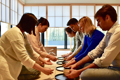 Shinjuku news tea ceremony